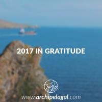 2017 in Gratitude