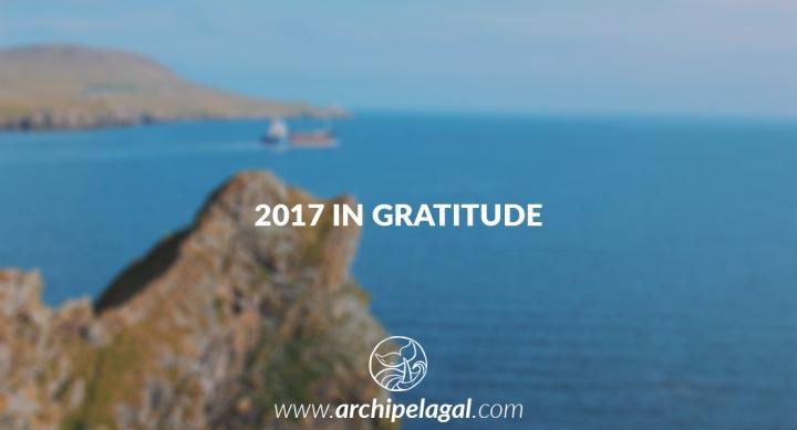 Archipelagal 2017 in Gratitude